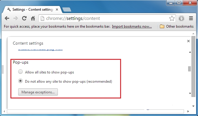 how to remove unwanted search engines from chrome